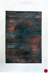 ohne Titel, Mischtechnik auf Papier, 2001, 56 x 37 cm [20010270] - VERKAUFT