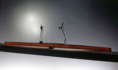 Lebensmomente II, 1993, 42x176x16 cm