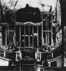Brandenburg, St. Gotthard, Brandtorso der Wagner-Orgel
