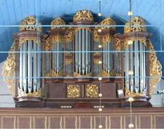 Otterndorf, Orgel von Dietrich Christoph Gloger, 1741/42
