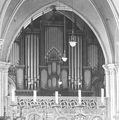 Frankfurt/O., St. Marien, Orgel von Carl August Buchholz
