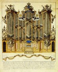 Berlin, Garnisonkirche, Orgel von Joachim Wagner