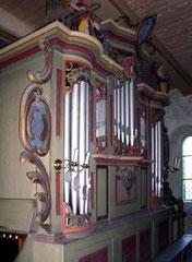 Niederlandin, Orgelgehäuse der Wagner-Schule