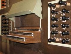 Otterndorf, Spielanlage der Gloger-Orgel