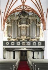 Angermünde, St. Marien, Orgel von Joachim Wagner