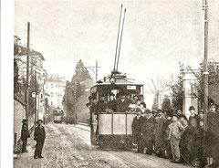 Drehstrom-Triebwagen Ce 1/2 3 um 1896