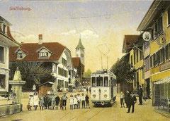 STJ Ce 2/2 12 in Steffisburg 1913