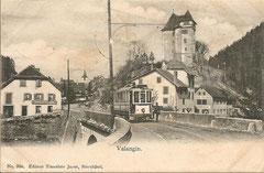 Valangin, gelaufen 20. 5. 1907