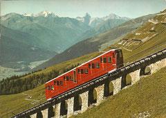 Parsennbahn, gelaufen am 30. 9. 1980