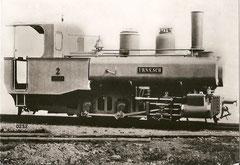 """Dampflock G 3/3 2 """"Urnäsch"""" (1874)"""