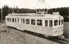 Fabrikneuer Ce 4/4 6 auf dem Drei-Schienengleis Bremgarten West-Wohlen