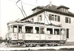 CFe 2/2 11, Depot Baar 1913