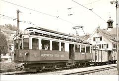 Ceh 4/4 11 in Gais 11.5. 1953