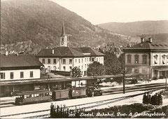 Bahnhof Liestal. 1930
