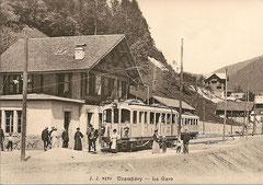 Bahnhof Champéry