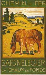 Plakat von Charles L'Eplattenier