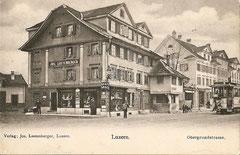 Obergrundstrasse ca. 1908