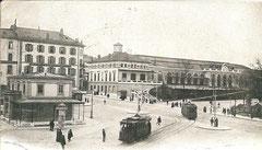Bahnhof Genf, gelaufen 10. 5. 1907