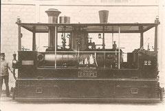 "G 3/3 Nr. 22 ""Crepy"" 1896"