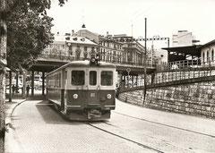 Zug nach Zollikofen im Mai 1962