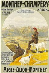 Plakat von A. Reckziegel von 1908