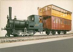 Modell der Bödelibahn (1 : 10)