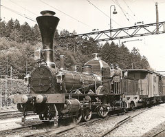 """Nachbau von 1947 der Lok D 1/3 1 """"Limmat"""" (Spanisch Brötlibahn)"""