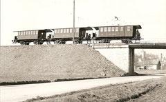CFe 2/2 11 + B2 21/24 zwischen St. Eloi und Les Granges, 9. 3. 1968