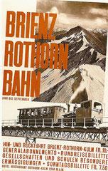 Plakat von 1932, von Hilfiker