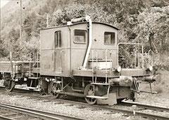 Tm 11 für den Rangierbetrieb Martigny Bourg, 19. 9. 1962