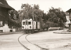 BTI Fe 4/1 mit OR 6 3 + 5 + 6 in Biel am 29. 10. 1962