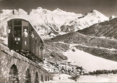 St. Moritz, Corvigliabahn
