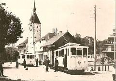 Station Bremgarten Obertor in den ersten Betriebsjahren