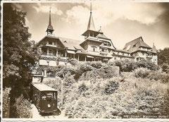 Wagen 1 unterhalb des Waldhauses Dolder, gelaufen 5. 10. 1933