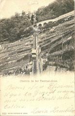 gelaufen 16. 4. 1900