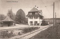 Bahnhof Melchnau, ungelaufen
