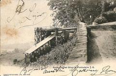 gelaufen 22. 5. 1905