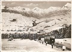Wagen nach dem Kreuzen, gelaufen 2. 3. 1941