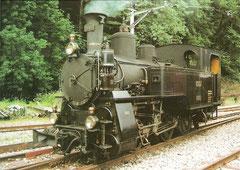 Dampflok HG 3/3 1067 (ex Brünig) 1910
