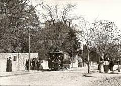 Rue de la Servette um 1894