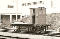 Akkumulatortraktor in Fahrwangen am 23. 9. 1977