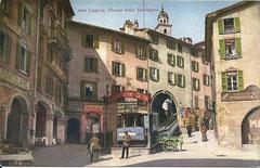 Talstation, Piazza della funicolare, ungelaufen