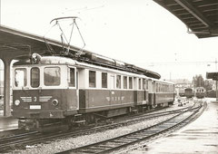 ABFe 4/4 3 in Solothurn am 3. 11. 1968
