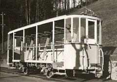 TB-Skiwagen C 81 war im Sommer Aussichts-Personenwagen