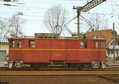 Von Sernftalbahn übernommener Xe 2/2 22 als OJB Xe 2/2 90, 26. 3. 1977