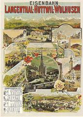 Plakat von A. Reckziegel um 1900
