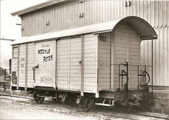 K 652 in Palézieux im Oktober 1961