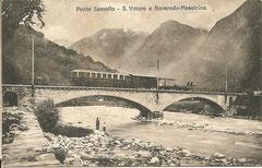 Ponte Sassello, gelaufen 27. 10. 1915