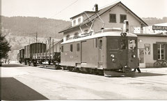 Fe 4/4 403 in Glovelier am 28. 8. 1959