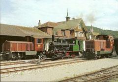 Em 2/2 2, E 3/3 5 + Em 2/2 1 in Triengen -Winikon am 30. 8. 1986
